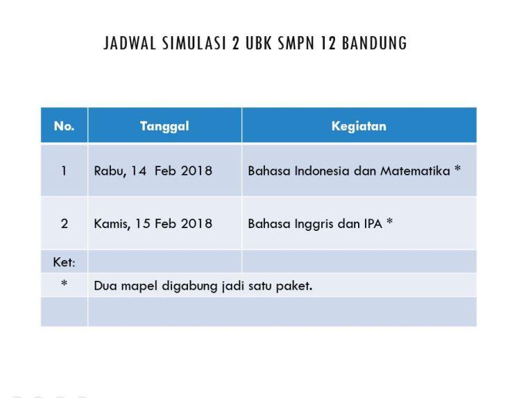 Jadwal Simul2